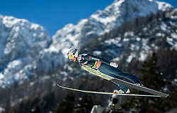 Martin Hamann (GER) during the Qualification Round of the Ski Flying Hill Individual Competition at Day 1 of FIS Ski Jumping World Cup Final 2019, on March 21, 2019 in Planica, Slovenia. Photo by Masa Kraljic / Sportida