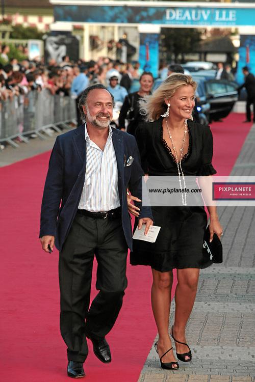 Olivier Dassault et sa compagne Natacha - 33 ème festival du film américain de Deauville - 2/09/2007 - JSB / PixPlanete