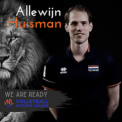 Fysiotherapeut Alewijn Huisman of Netherlands, Photoshoot selection of Orange men's volleybal team season 2021on may 11, 2021 in Arnhem, Netherlands (Photo by RHF Agency/Ronald Hoogendoorn)