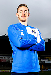 Tom Lockyer of Bristol Rovers pose for a portrait - Mandatory by-line: Robbie Stephenson/JMP - 15/04/2016 - FOOTBALL - The Memorial Ground - Bristol, England -  v  - Bristol Rovers Portraits