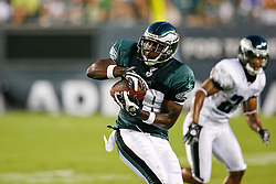 Philadelphia Eagles running back LeSean McCoy #29 catches a pass during the Philadelphia Eagles NFL Flight Night at Lincoln Financial Field in Philadelphia, Pennsylvania on Sunday August 2nd 2009. (Photo by Brian Garfinkel)