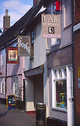 ADFTJC Shop and pub signs the Thoroughfare Woodbridge Suffolk England