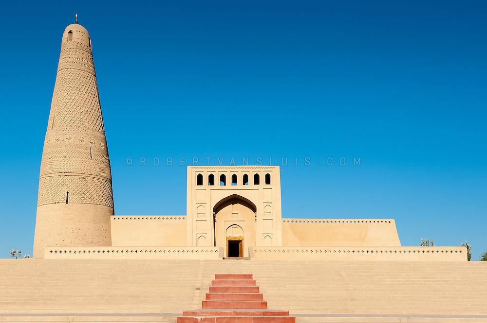 Emin Minaret and mosque, Turpan, Xinjiang, China