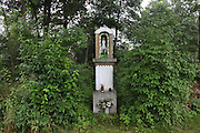 """Nineteen Roma massacred in the forest by Nazis. They were forced out of this wooden hut and killed. In the 1950s exhumed and reburied in local cemetery. Bielcza, near Tarnow Poland..Roma Holocaust """"Porrajmos"""", the Roma word means literally """"the devouring"""", where it is estimated that between 500 thousand and one and a half million Roma were exterminated across Germany, Poland, ex-Yugoslavia and Czechoslovakia during the 1930s and 1940s. The Roma were the first race to be subjected to experimentation by the Nazis, as part of Joseph Goebbels' 'Final Solution'."""