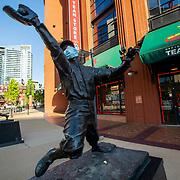 George Sisler Statue, St. Louis Missouri outside Busch Stadium