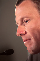 Adelaide - Australie - wielrennen - cycling - radsport - cyclisme -  Tour Down Under - persconferentie Lance Armstrong (Team RadioShack) - Lance Armstrong  <br /> PHOTO : PHOTO NEWS / DPPI