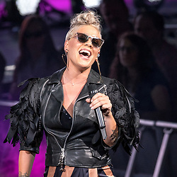 July 2, 2017 - Milwaukee, Wisconsin, U.S - PINK (ALECIA MOORE) performs live at Henry Maier Festival Park during Summerfest in Milwaukee, Wisconsin (Credit Image: © Daniel DeSlover via ZUMA Wire)