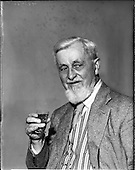 1958 - Maurice Walsh (author) at David Courtney Ltd. Wine Merchants