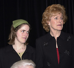 Left to right, MRS GILES PORTER (Kelly) and her mother LYNN REDGRAVE members of the Redgrave theatrical family, at a party in London on 3rd April 2000.OCO 37
