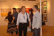 JULIAN SANDS AND IAIN SOFTLEY, Opening of Photo-London, Burlington Gdns. London. 17 May 2006. ONE TIME USE ONLY - DO NOT ARCHIVE  © Copyright Photograph by Dafydd Jones 66 Stockwell Park Rd. London SW9 0DA Tel 020 7733 0108 www.dafjones.com