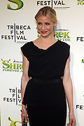 """21 April 2010- New York, NY- Cameron Diaz at The World Premiere of Dreamwork Animation's """" Shrek Forever After """" for the Opening Night of the 2010 Tribeca Film Festival held at the Zeigfeld Theater on April 21, 2010 in New York City."""