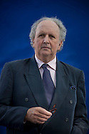 Bestselling Scottish crime writer Alexander McCall Smith, pictured at the Edinburgh International Book Festival where he talked about his latest work. The three-week event is the world's biggest literary festival and is held during the annual Edinburgh Festival. The 2012 event featured talks and presentations by more than 500 authors from around the world.