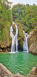 El Nicho waterfalls at Topes de Collantes Natural Park, Trinidad, Cuba