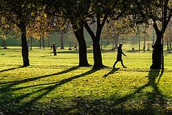 the Meadows park in Edinburgh, Scotland, United Kingdom