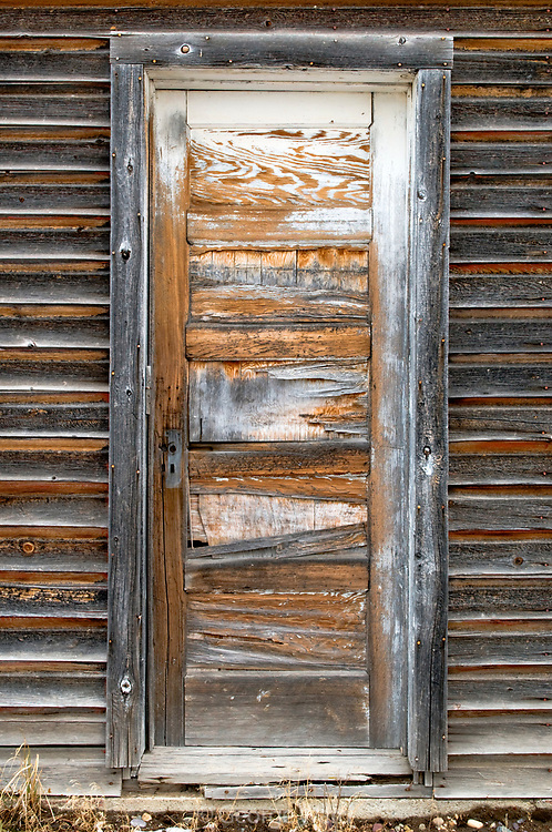 Old Barn Door, Teton National Forest, Wyoming