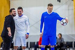 Josip Ilicic during Opening event of Sports hall Baza, on January 8, 2018 in Sports hall Baza, Ljubljana, Slovenia. Photo by Ziga Zupan / Sportida