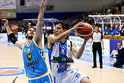 DESCRIZIONE : Capo dOrlando Lega A 2015-16 Betaland Orlandina Basket Vanoli Cremona<br /> GIOCATORE : Tommaso Laquintana Luca Vitali<br /> CATEGORIA : Penetrazione Passaggio<br /> SQUADRA : Betaland Orlandina Basket<br /> EVENTO : Campionato Lega A Beko 2015-2016 <br /> GARA : Betaland Orlandina Basket Vanoli Cremona<br /> DATA : 15/11/2015<br /> SPORT : Pallacanestro <br /> AUTORE : Agenzia Ciamillo-Castoria/G.Pappalardo<br /> Galleria : Lega Basket A Beko 2015-2016<br /> Fotonotizia : Capo dOrlando Lega A Beko 2015-16 Betaland Orlandina Basket Vanoli Cremona