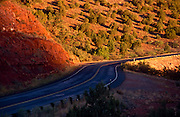 Curve in AZ Highway 179 near Sedona, Arizona..Subject photograph(s) are copyright Edward McCain. All rights are reserved except those specifically granted by Edward McCain in writing prior to publication...McCain Photography.211 S 4th Avenue.Tucson, AZ 85701-2103.(520) 623-1998.mobile: (520) 990-0999.fax: (520) 623-1190.http://www.mccainphoto.com.edward@mccainphoto.com