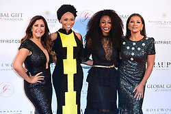 (From left to right) Maria Bravo, Bonang Matheba, Beverley Knight and Vanessa Williams attending the Nelson Mandela Global Gift Gala, at the Rosewood Hotel, London.