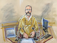 Carl Wood in witness box