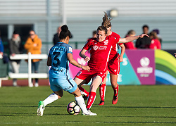 Frankie Brown of Bristol City Women in action during the FA WSL Spring Series match between Bristol City Women and Manchester City Women at Stoke Gifford Stadium - Mandatory by-line: Paul Knight/JMP - 09/05/2017 - FOOTBALL - Stoke Gifford Stadium - Bristol, England - Bristol City Women v Manchester City Women - FA Women's Super League Spring Series
