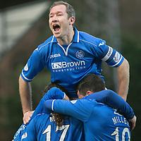 St Johnstone FC Nov 2013