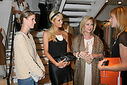 Nicky Hilton, Paris Hilton, Kathy Hilton, and Step Up Women's Network Managing Director Angie Grabski