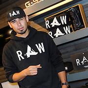 NLD/Amsterdam/20131107 - Lancering kledinglijn limited edition Afrojack merk bij G Star Raw