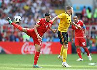 Anice Badri (Tunisia) and Toby Alderweireld (Belgium)<br /> Moscow 23-06-2018 Football FIFA World Cup Russia  2018 <br /> Belgium - Tunisia / Belgio - Tunisia <br /> Foto Matteo Ciambelli/Insidefoto