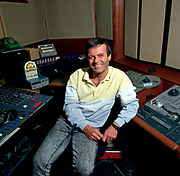 Portrait of Tony Blackburn at the BBC 1986