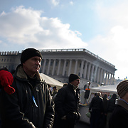 KIEV, UKRAINE - February 24, 2014: People attend a mass as anti-government protestors remain put in Maidan the day after the fall of Viktor Yanukovych's government. CREDIT: Paulo Nunes dos Santos