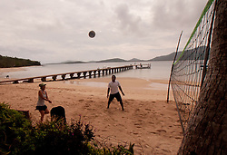 Beach Volleyball, Turtle Island, Yasawa Islands, Fiji