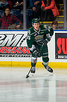 KELOWNA, BC - FEBRUARY 15: Reece Vitelli #26 of the Everett Silvertips skates with the puck against the Kelowna Rockets at Prospera Place on February 15, 2019 in Kelowna, Canada. (Photo by Marissa Baecker/Getty Images)