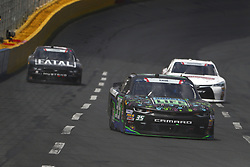 May 26, 2018 - Concord, North Carolina, United States of America - Joey Gase (35) brings his race car down the front stretch during the Alsco 300 at Charlotte Motor Speedway in Concord, North Carolina. (Credit Image: © Chris Owens Asp Inc/ASP via ZUMA Wire)