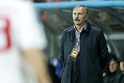 coach Igor Kriushenko of Belarus during the FIFA World Cup 2018 qualifying match between Belarus and Netherlands on October 07, 2017 at Borisov Arena in Borisov,  Belarus