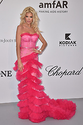 Victoria Silvstedt attends the amfAR Cannes Gala 2019 at Hotel du Cap-Eden-Roc on May 23, 2019 in Cap d'Antibes, France. Photo by Lionel Hahn/ABACAPRESS.COM