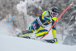 Andre Myhrer (SWE) during 1st run of Men's Slalom race of FIS Alpine Ski World Cup 57th Vitranc Cup 2018, on March 4, 2018 in Kranjska Gora, Slovenia. Photo by Ziga Zupan / Sportida