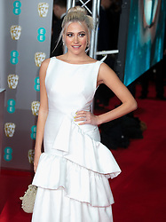 Pixi Lott and Oliver Cheshire attend EE Bafta Awards 2020: EE British Academy Film Awards 2020 at the Royal Albert Hall in London, 2 February 2020<br /><br />2 February 2020.<br /><br />Please byline: Vantagenews.com