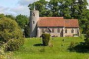 Village parish church of Saint Mary, Aldham, Suffolk, England, UK