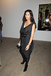 PADMA LAKSHMI at the Quintessentailly Summer Party at the Phillips de Pury Gallery, 9 Howick Place, London on 9th July 2008.<br />