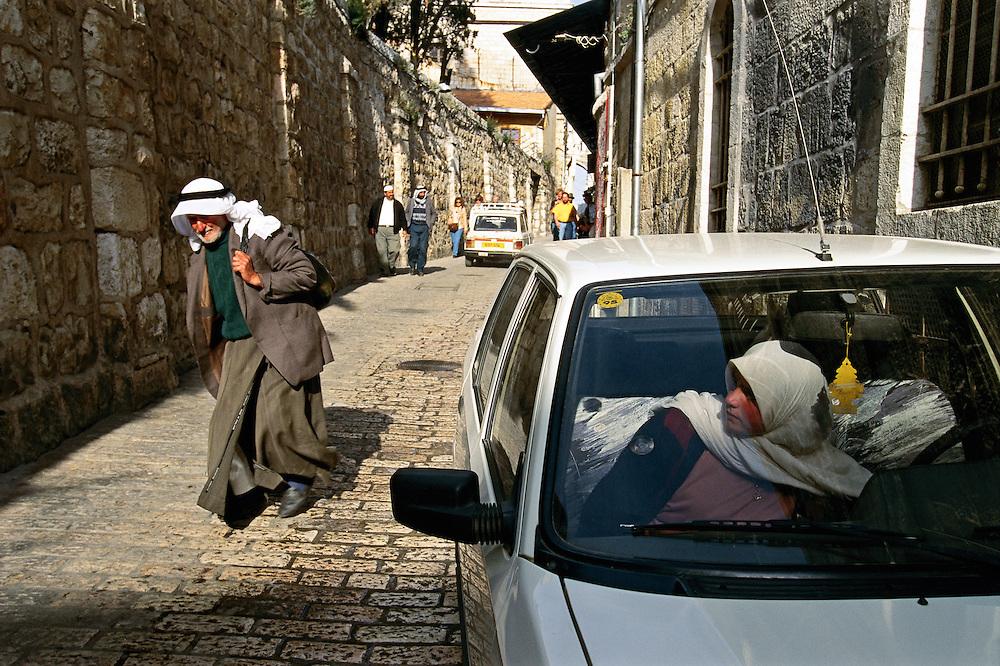 Jerusalem, Israel:  Arab quarter of the Old City.