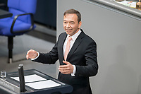 14 FEB 2019, BERLIN/GERMANY:<br /> Pascal Kober, MdB, FDP, Bundestagsdebatte, Plenum, Deutscher Bundestag<br /> IMAGE: 20190214-01-051<br /> KEYWORDS: Bundestag, Debatte