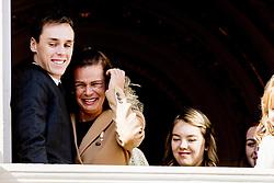 Louis Ducruet, Prinzessin Stefanie von Monaco bei den Feierlichkeiten zum Nationalfeiertag in Monaco / 191116<br /> <br /> ***National Day in Monaco, November 19th, 2016***