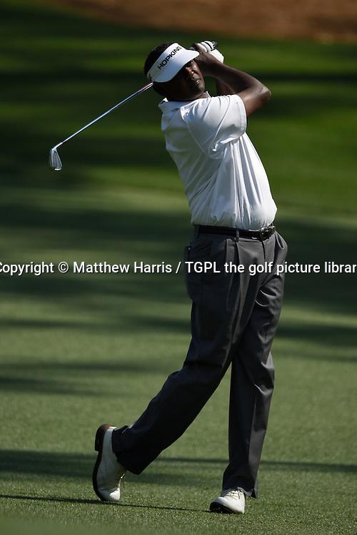 VJ SINGH (FIJ) during second round US Masters 2014,Augusta National,Augusta, Georgia,USA.