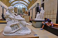 France, Paris (75), zone classée Patrimoine Mondial de l'UNESCO, Musée d'Orsay, Sapho par James Pradier // France, Paris, Orsay museum, Sapho by James Pradier