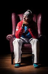 "21.10.2014, das kleine Berghotel, Riezlern, AUT, OESV, Nordische Kombinierer, Fotoshooting, im Bild Martin Fritz (AUT) // Martin Fritz of Austria during the Photoshooting of the Ski Austria Nordic Combined Team at ""das kleine Berghotel"", Riezlern, Austria on 2014/10/21. EXPA Pictures © 2014, PhotoCredit: EXPA/ JFK"