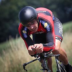 EMMEN (NED wielrennen <br /> Tijdrit Topcompetitie Emmen  <br /> Gert Mulderij