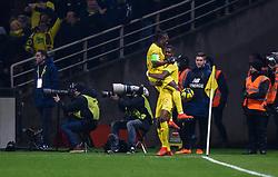 January 30, 2019 - Nantes, France - Joie des joueurs de l equipe Nantes (Credit Image: © Panoramic via ZUMA Press)