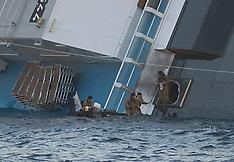 The Wrecked Cruise Ship Costa Concordia
