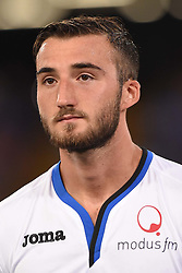August 27, 2017 - Naples, Naples, Italy - Bryan Cristante of Atalanta BC during the Serie A TIM match between SSC Napoli and Atalanta BC at Stadio San Paolo Naples Italy on 27 August 2017. (Credit Image: © Franco Romano/NurPhoto via ZUMA Press)